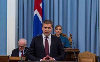 «Προκηρύσσω εκλογές», ανακοίνωσε την Παρασκευή ο πρωθυπουργός της Ισλανδίας, Μπιάρνι Μπενέντικτσον.