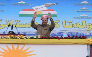 Ο ηγέτης των Κούρδων Μπαρζανί πιέζεται να αναβάλει το δημοψήφισμα της 25ης Σεπτεμβρίου.
