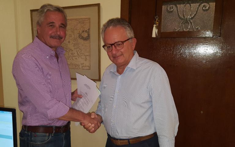 Επίσημη κατάθεση υποψηφιότητας για την ηγεσία του νέου φορέα από τον Γ. Μανιάτη