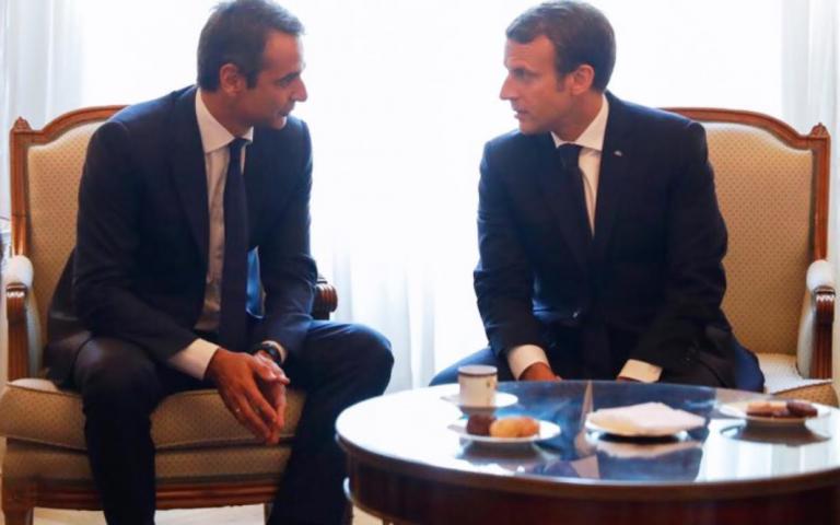 Μητσοτάκης: «Υποστηρίζουμε διαχρονικά, ενεργά, έμπρακτα τις ελληνο-γαλλικές σχέσεις»