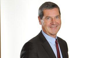 O πρόεδρος και διευθύνων σύμβουλος του γαλλικού ομίλου Imerys Group Ζιλ Μισέλ.