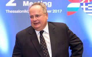 Ο κ. Νίκος Κοτζιάς συναντήθηκε ξεχωριστά χθες με τους τρεις ομολόγους του από την Αλβανία, τη Βουλγαρία και την ΠΓΔΜ.