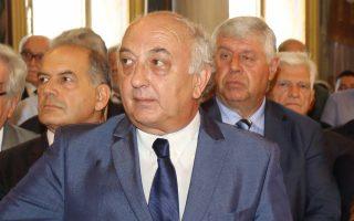 Ο υφυπουργός Εξωτερικών, κ. Ιωάννης Αμανατίδης.