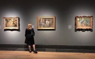 Στους τοίχους της Εθνικής Πινακοθήκης του Λονδίνου συγκεντρώνονται αυτές τις μέρες πολύ ιδιαίτερα έργα του Εντγκάρ Ντεγκά.