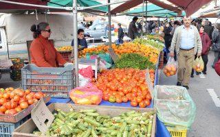 Στις λαϊκές αγορές θα επιτρέπεται η διάθεση και γαλακτοκομικών προϊόντων.
