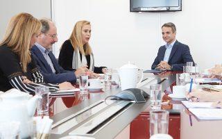 Με το προεδρείο της ΕΣΗΕΑ συναντήθηκε χθες ο Κυρ. Μητσοτάκης.