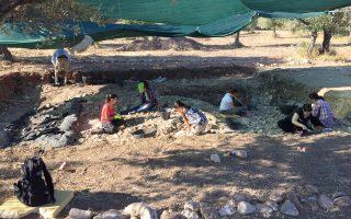 Πλούσια ήταν τα ευρήματα της φετινής ανασκαφής στη σημαντικότατη παλαιολιθική θέση «Ροδαφνίδια», στο Λισβόρι Λέσβου, όπου επέστρεψε έκτη χρονιά ομάδα του Πανεπιστημίου Κρήτης με επικεφαλής τη Νένα Γαλανίδου. Το έργο των αρχαιολόγων στηρίζει η τοπική κοινωνία, συμμετέχοντας στην αναζήτηση των λίθινων εργαλείων που κατασκεύασαν οι πρώτοι κάτοικοι του νησιού μέχρι και πριν από εκατοντάδες χιλιετίες.