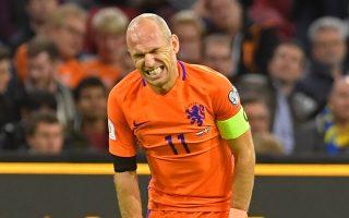 Ο Αριεν Ρόμπεν ανακοίνωσε πως δεν θα αγωνιστεί ξανά με την εθνική ομάδα της χώρας του.