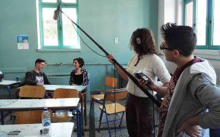 Κινηματογραφικό σεμινάριο στα «Ανοιχτά Σχολεία» της Αθήνας.
