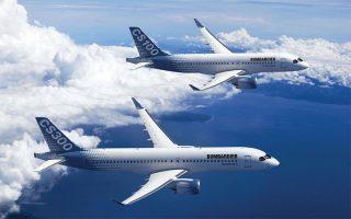 H ευρωπαϊκή Airbus θα αποκτήσει την πλειονότητα των μετοχών της εταιρείας που παράγει το μοντέλο CSeries, μια οικογένεια μεσαίων αεροσκαφών χωρητικότητας 100 έως 150 ατόμων.