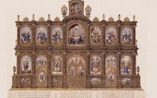 Αγνωστα αριστουργήματα, καθώς και τεκμήρια άρρηκτα συνδεδεμένα με το τέμπλο ναών στην Ελλάδα, στην Ευρώπη και στην Αμερική, συνθέτουν ένα εικαστικό πανόραμα της νεοελληνικής θρησκευτικής ζωγραφικής στο Μουσείο Βυζαντινού Πολιτισμού της Θεσσαλονίκης. Τη μοναδική έκθεση με τίτλο «ΤΕΜΠΛΟΝ - Αγιες Μορφές, αόρατες πύλες πίστης, 20ός και 21ος αιώνας» θα εγκαινιάσει (27/10) ο Πρόεδρος της Δημοκρατίας Προκόπης Παυλόπουλος.