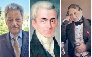 Ο Ελβετός πρέσβης στην Αθήνα Χανς Ρούντολφ Χόντελ μίλησε για τον Καποδίστρια και τον Εϋνάρδο ως θεμελιωτές της ελληνοελβετικής σύνδεσης ήδη προτού αποκτήσουν οι χώρες διπλωματικές σχέσεις.