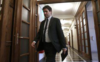 Ο αναπληρωτής υπουργός Οικονομικών Γιώργος Χουλιαράκης συμμετείχε στη χθεσινή πρώτη συνάντηση με τους θεσμούς.