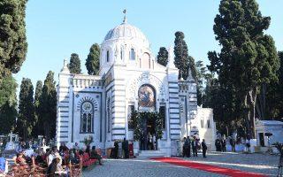 O κοιμητηριακός ναός ανέκτησε την αίγλη και την ομορφιά του μετά τα έργα της αποκατάστασής του.