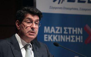Ο πρόεδρος του ΣΕΒ Θεόδωρος Φέσσας αναμένεται να υπογραμμίσει την ανάγκη μιας ξεκάθαρης πρότασης για ένα παραγωγικό εργασιακό περιβάλλον.