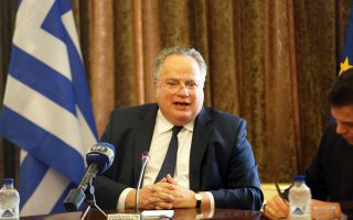 Ο υπουργός Εξωτερικών Ν. Κοτζιάς, κατά τη χθεσινή συνέντευξη Τύπου, εκτίμησε ότι η διαφορά για το όνομα με την ΠΓΔΜ θα λυθεί στο πρώτο εξάμηνο του 2018.