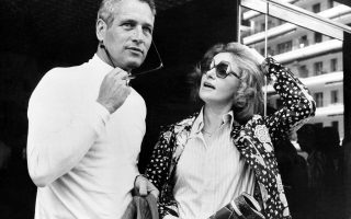 Paul Newman and his actress-wife Joanne Woodward are seen in Cannes, France, May 23, 1973, where they present their joint motion picture