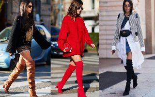 Δες πως φόρεσαν οι διάσημες κυρίες της μόδας τις σέξι μπότες του χειμώνα και ετοιμάσου να τις υιοθετήσεις.