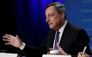 Στη συνέντευξη μετά το πέρας της συνεδρίασης της ΕΚΤ την Πέμπτη, ο Μάριο Ντράγκι δήλωσε ότι οι αγορές εταιρικών ομολόγων θα συνεχίσουν να είναι «αρκετά μεγάλες».