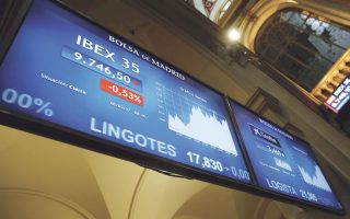 O δείκτης ΙΒΕΧ του χρηματιστηρίου της Μαδρίτης είχε τις μεγαλύτερες απώλειες στην Ευρώπη.