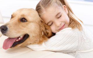 Η έρευνά μας δείχνει ότι η παρουσία ενός σκύλου ως κατοικίδιο ζώο όταν ένα παιδί υποφέρει από μια αγχωτική εμπειρία, μειώνει την ένταση που τα παιδιά νιώθουν το στρες.