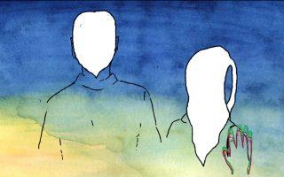Τελ Αβίβ, 1962. Η στιγμή στο animation του Ματάν Ρόχλιτζ όπου η γυναίκα του τρένου σκουντάει με το χέρι την Κλάρα, στην οδό Ντίζενχοφ, για να της παραδώσει το μήνυμα που κουβάλαγε μέσα της σχεδόν είκοσι χρόνια.