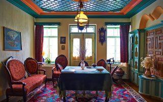 Ο ξενώνας Θουκυδίδης έχει διατηρήσει όλα τα στοιχεία της ζαγορίτικης παράδοσης. (Φωτογραφία: © ΠΕΡΙΚΛΗΣ ΜΕΡΑΚΟΣ)