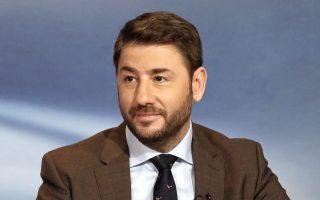 «Θέλω να συγκρουστώ με τις πρακτικές του παρελθόντος», αναφέρει ο ευρωβουλευτής της «Ελιάς» Ν. Ανδρουλάκης.