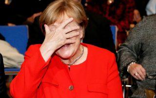 «Μπορούμε να βρούμε άκρη αν προσπαθήσουμε», είπε η Γερμανίδα καγκελάριος.