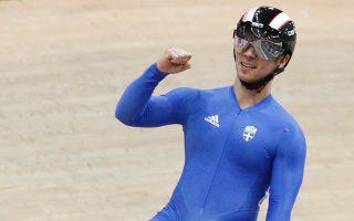 Ο Ελληνας ποδηλάτης κατέκτησε ένα ασημένιο μετάλλιο, μία 5η και μία 9η θέση στο Παγκόσμιο πίστας.