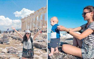 Αξέχαστοι θα μείνουν στη Cécile οι τρεις μήνες στην Ελλάδα, καθώς ταξίδεψε πολύ και δημιούργησε μια διαπροσωπική σχέση με ένα νήπιο.