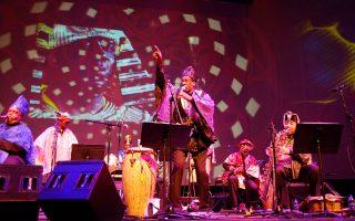 Συναυλία της Sun Ra Arkestra στο πλαίσιο του φεστιβάλ Enter Afrofuturism.