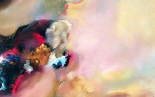 «Εμμονή» (λεπτ.), της Δικαίας Δεσποτάκη, από την ατομική έκθεσή της στην Gallery Genesis (Χάρητος 35).