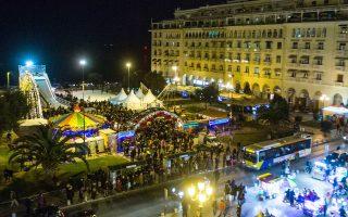 Μετά βίας έλαβαν απόφαση στο δημοτικό συμβούλιο του Δήμου Θεσσαλονίκης για τον χριστουγεννιάτικο στολισμό της πόλης.