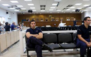 Ο Ηλίας Σταύρου καταθέτει στη δίκη της Χρυσής Αυγής Δευτέρα18 Σεπτεμβρίου 2017. Συνεχίζεται με εξέταση μαρτύρων κατηγορίας στις γυναικείες φυλακές του Κορυδαλλού η δίκη της ηγεσίας και μελών της Χρυσής Αυγής , τέσσερα χρόνια από την δολοφονία του Παύλου Φύσσα από το μέλος της Χρυσής Αυγής Γιώργο Ρουπακιά, στο Κερατσίνι . ΑΠΕ-ΜΠΕ/ΑΠΕ-ΜΠΕ/Παντελής Σαίτας