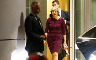 Η Τερέζα Μέι προσπαθεί να διαβεβαιώσει τους εταίρους ότι το Λονδίνο θα τιμήσει τις οικονομικές υποχρεώσεις που έχει αναλάβει στον προϋπολογισμό της Ευρωπαϊκής Ενωσης.