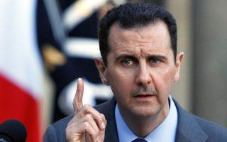 Ο Μπασάρ Ασαντ.