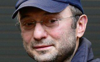 Ο Σουλεϊμάν Κερίμοφ σε εικόνα αρχείου του 2012, κατά τη διάρκεια ποδοσφαιρικού αγώνα στη Μόσχα.