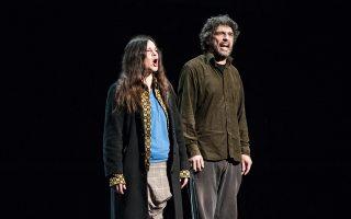 «Lasciatemi Morire» στην Πειραματική Σκηνή του Εθνικού Θεάτρου.