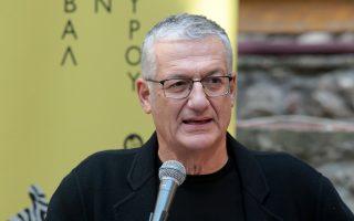 Ο καλλιτεχνικός διευθυντής του Ελληνικού Φεστιβάλ Βαγγέλης Θεοδωρόπουλος.