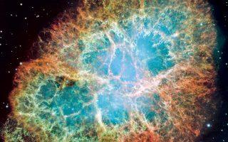 Στο εσωτερικό του νεφελώματος Καρκίνου, στον αστερισμό του Ταύρου, υπάρχει ένα άστρο νετρονίων που περιστρέφεται 30 φορές το δευτερόλεπτο.
