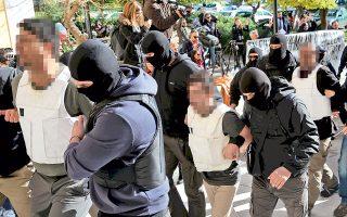 Οι εννέα συλληφθέντες έλαβαν προθεσμία να απολογηθούν τη Δευτέρα.