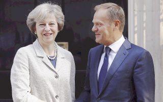 Ο Ντόναλντ Τουσκ, πρόεδρος του Ευρωπαϊκού Συμβουλίου, έχει δηλώσει ότι «πρέπει να έχουμε πρόοδο σε δέκα ημέρες για όλα τα θέματα, συμπεριλαμβανομένης και της Ιρλανδίας». Στη Σύνοδο Κορυφής του Δεκεμβρίου αναμένει περισσότερες και πιο λεπτομερείς προτάσεις από τη Βρετανία, την οποία εκπροσωπεί η πρωθυπουργός Τερέζα Μέι.