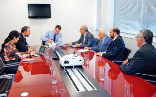Ο Κυρ. Μητσοτάκης συναντήθηκε χθες με το Δ.Σ. της Πανελλήνιας Ομοσπονδίας Ιδιοκτητών Ακινήτων (ΠΟΜΙΔΑ).