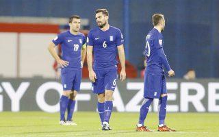 Τίποτα δεν πήγε καλά χθες στο Ζάγκρεμπ για την ελληνική ομάδα. Πλέον, η Εθνική δείχνει να αποχαιρετά το Παγκόσμιο Κύπελλο, εκτός εάν η Κροατία αποφασίσει να... αυτοκτονήσει στη ρεβάνς της Κυριακής στο «Καραϊσκάκη».
