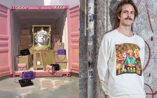 Ο καλλιτεχνικός διευθυντής του ιταλικού οίκου Alessandro Michele συνεργάστηκε με τον ισπανό καλλιτέχνη Ignasi Monreal για το συγκεκριμένο πρότζεκτ.