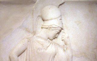 Το ανάγλυφο της «Σκεπτομένης Αθηνάς» ή Αθηνά προ στήλης (προγενέστερος τίτλος) είναι ένα από τα διασημότερα έργα του Μουσείου της Ακρόπολης.