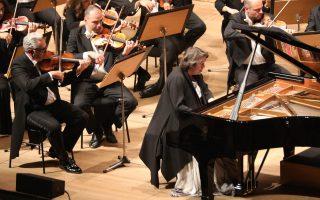 Η διάσημη πιανίστα Ελίζαμπετ Λεόνσκαγια απέδωσε με ποιητικό τρόπο το 4ο Κοντσέρτο του Μπετόβεν.