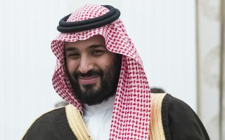 FILE - This May 30, 2017 file photo, shows Saudi Crown Prince and Defense Minister Mohammed bin Salman, in Moscow's Kremlin, Russia. Egypt faces high expectations from Saudi Arabia and its other Gulf Arab benefactors that it will have their back as tensions rise with their rival Iran. But Egypt clearly has no desire to be dragged into a military conflict and that reluctance could lead to frictions between Cairo and Riyadh. (AP Photo/Pavel Golovkin, Pool, File)