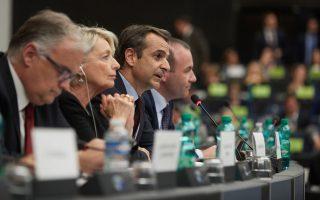 Την προσήλωσή του στη μεταρρυθμιστική ατζέντα επισήμανε ο Κυριάκος Μητσοτάκης στους ευρωβουλευτές του ΕΛΚ.